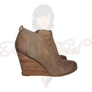 Crown Vintage CARLY Wedge Closed Toe Booties
